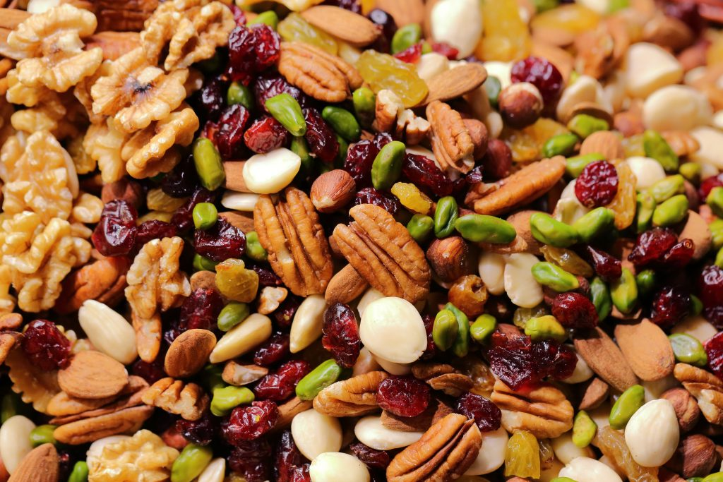 Per week hoe vaak eet jij noten?
