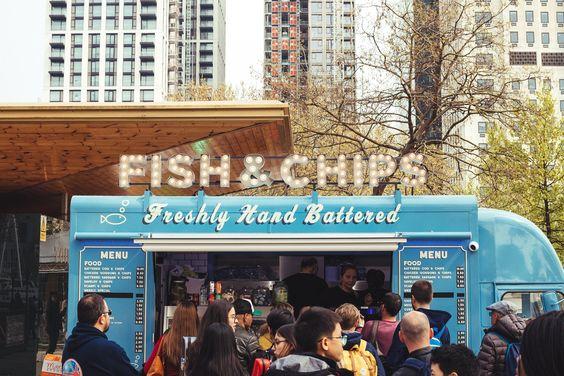 Foodtruck fish & chips
