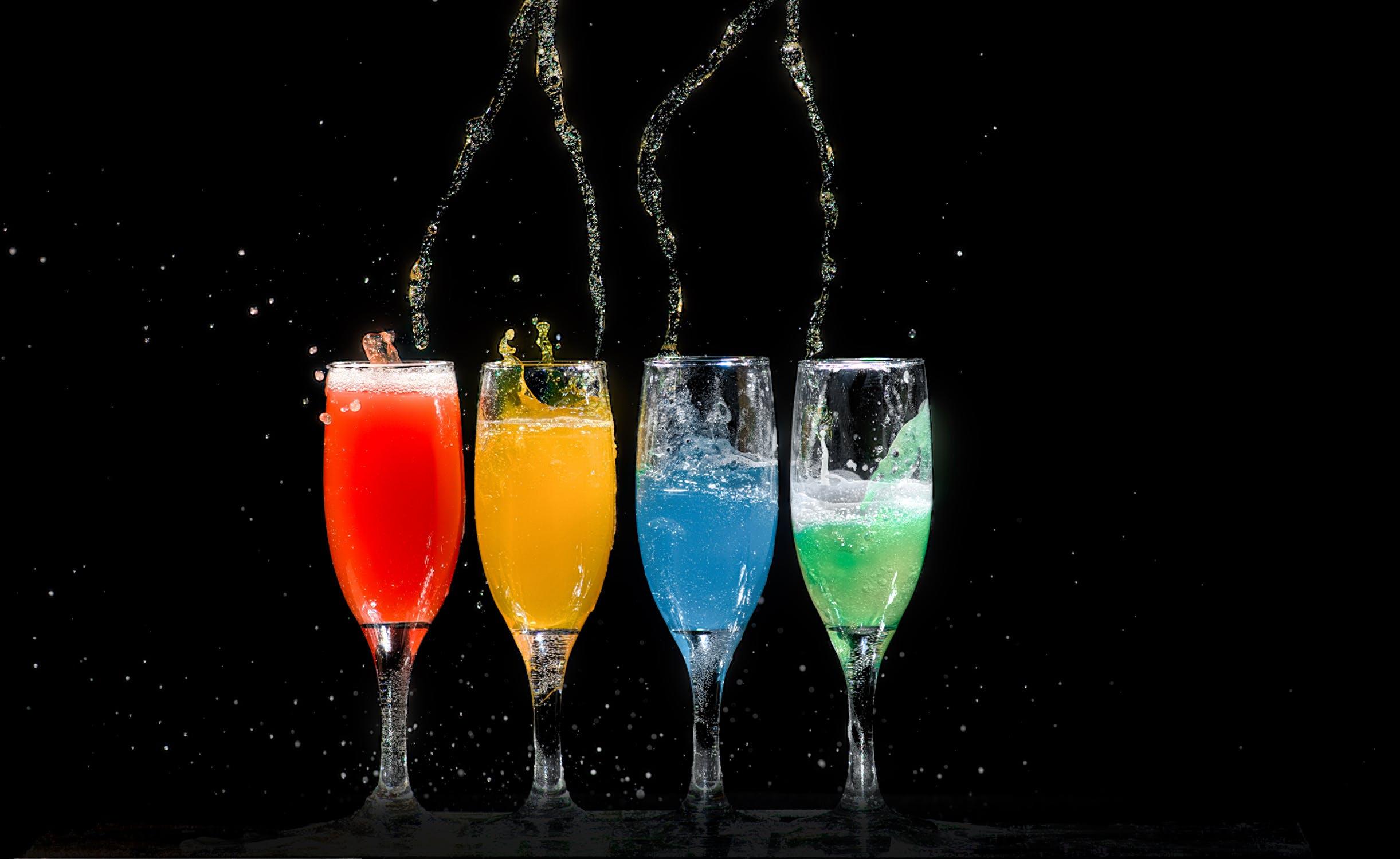 Wat zijn populaire drankjes voor op een festival?